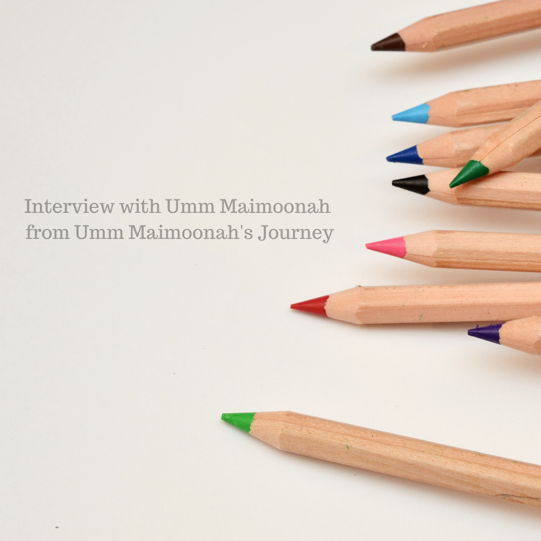 Interview with Umm Maimoonah from Umm Maimoonah's Journey