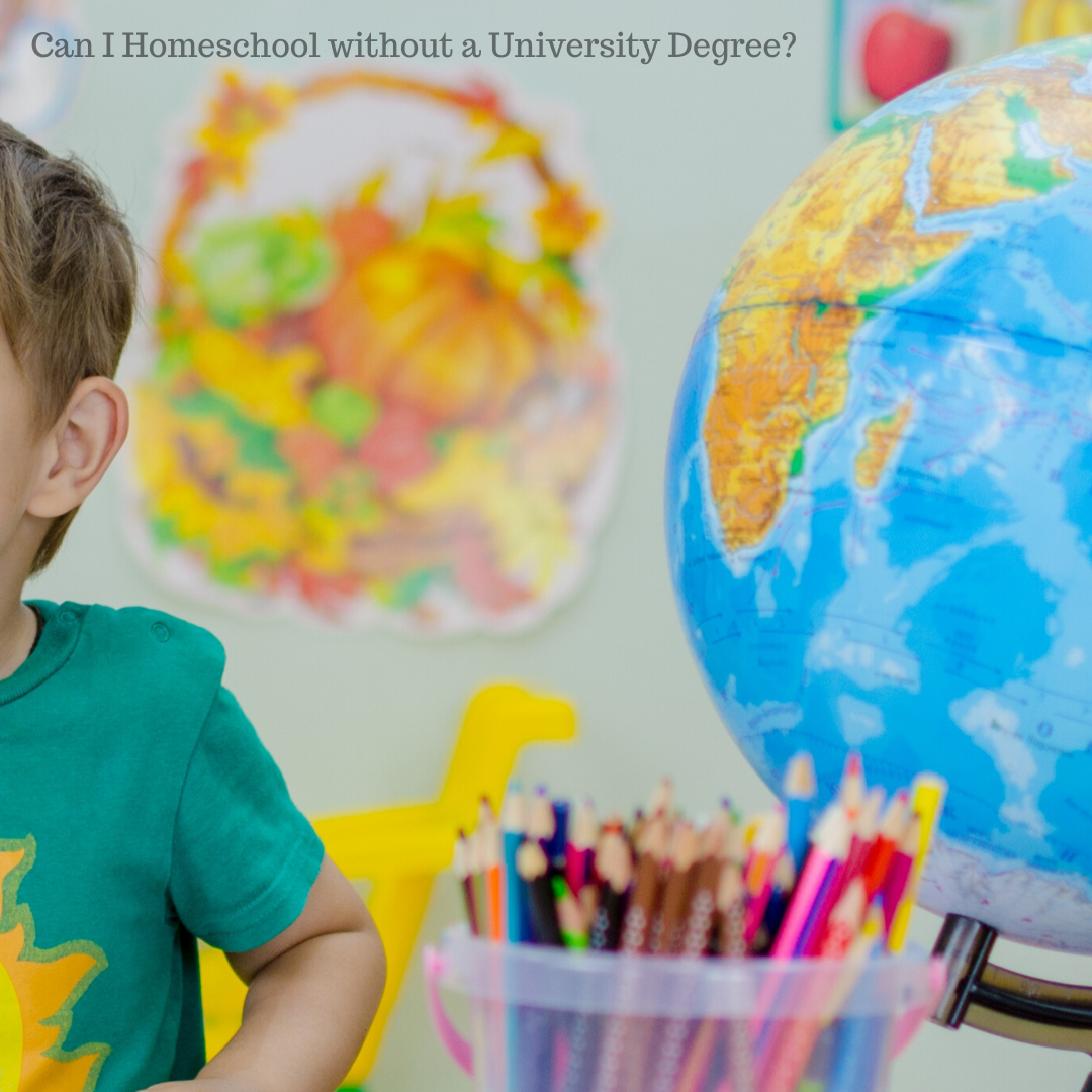 Can I Homeschool without a University Degree?