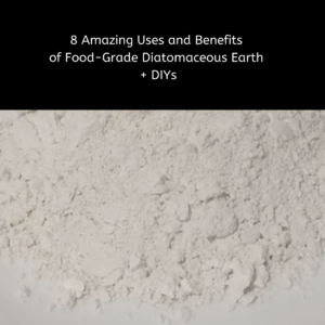 8 Amazing Uses and Benefits of Food-Grade Diatomaceous Earth + DIYs