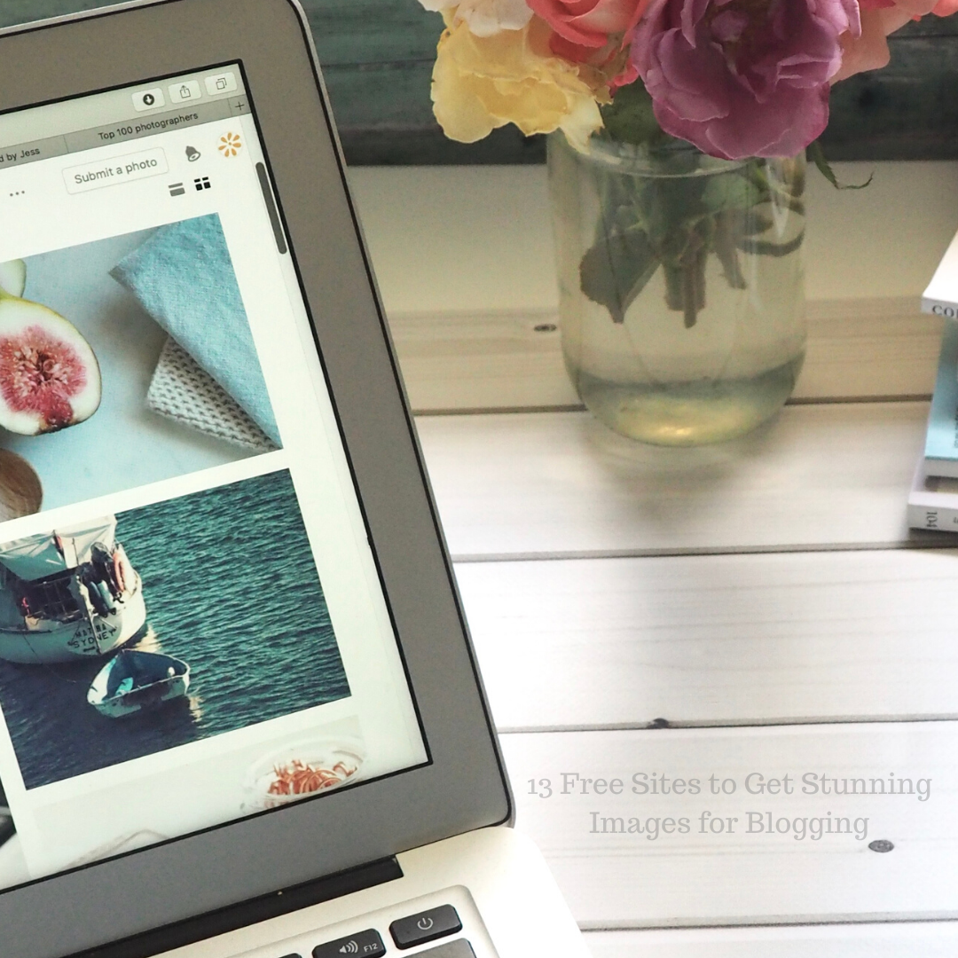 13 Free Sites to Get Stunning Images for Blogging