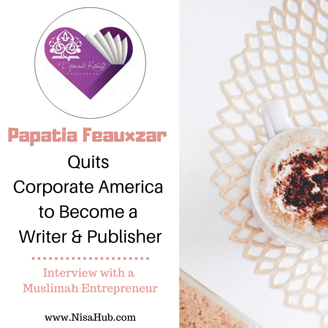 Papatia Feauxzar Quits Corporate America to Become a Writer and Publisher