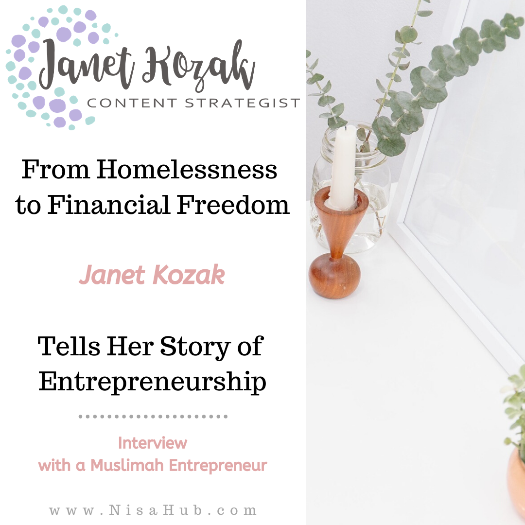 From Homelessness to Financial Freedom – Janet Kozak Tells Her Story of Entrepreneurship