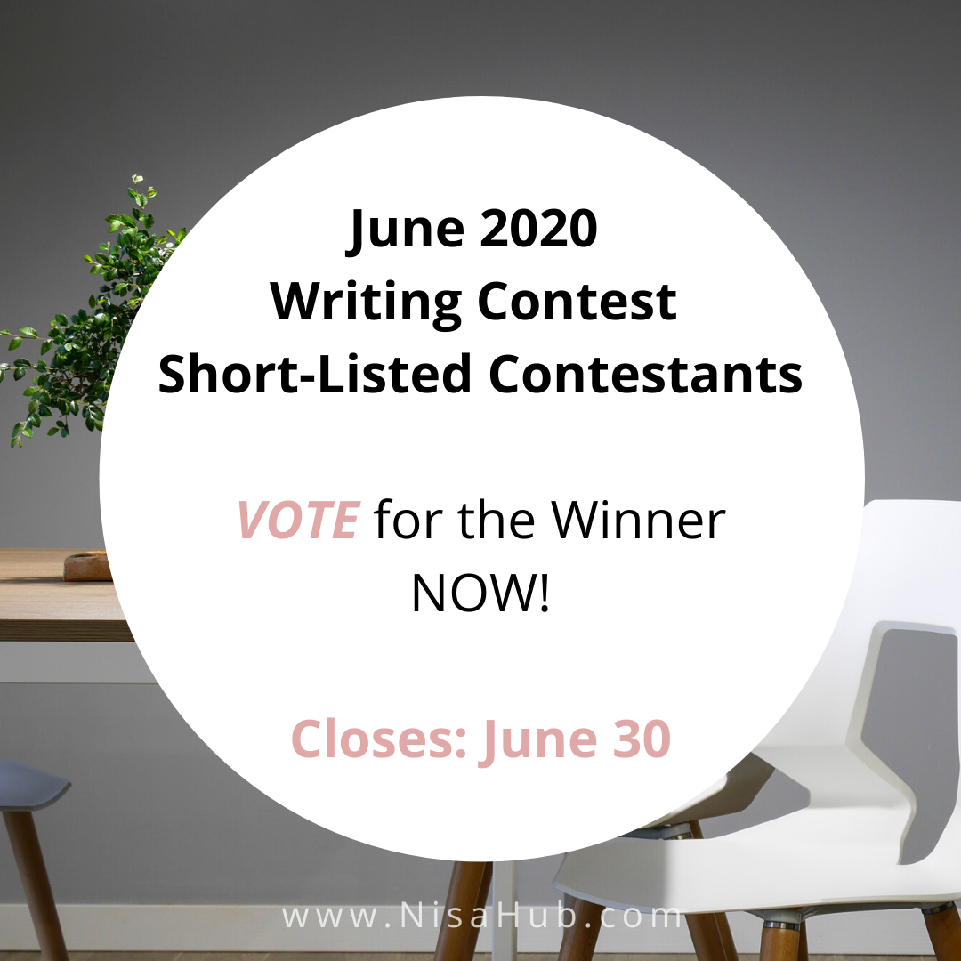 June 2020 Writing Contest (CLOSED)